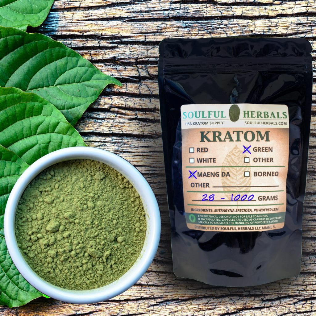 Green Maeng Da Kratom Kilo Sale or Mitragyna speciosa