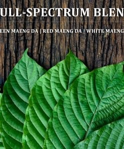 Kratom or Mitragyna speciosa Blend - Green, Red, White Maeng Da