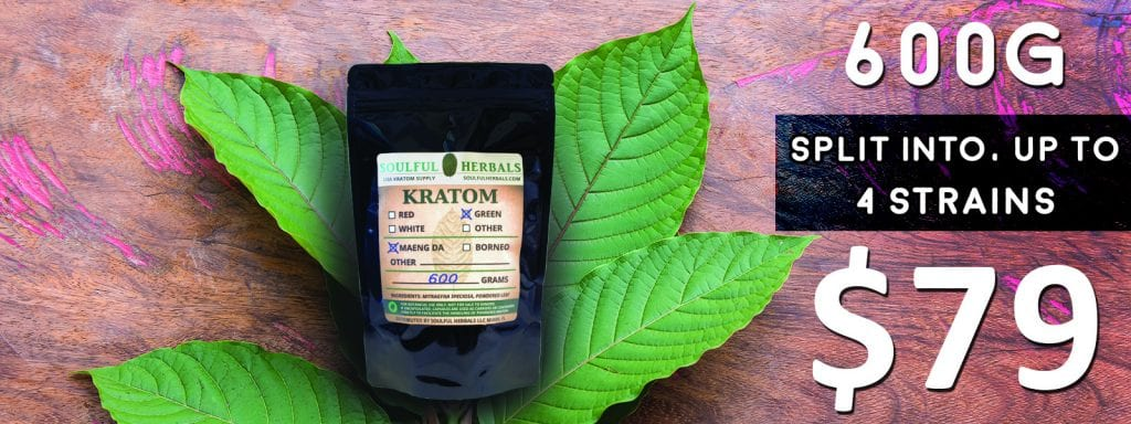 600g of Kratom Powder Split Kilo