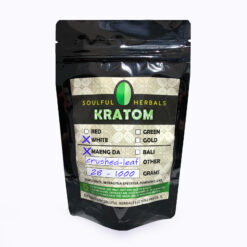 White Maeng Da Crushed Leaf Kratom